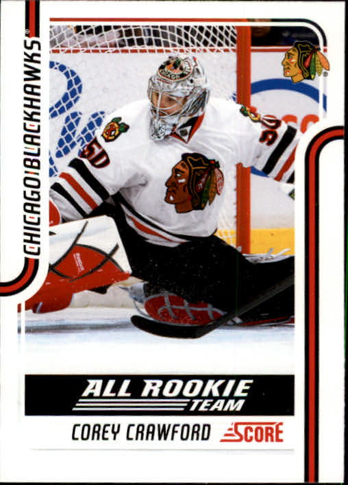 2011-12 Score #125 Corey Crawford