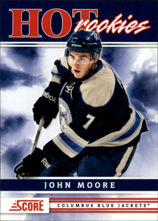 2011-12 Score #506 John Moore HR RC