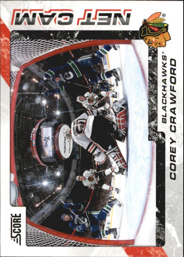 2011-12 Score Net Cam #13 Corey Crawford