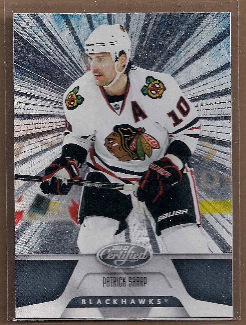 2011-12 Certified Totally Silver #4 Patrick Sharp