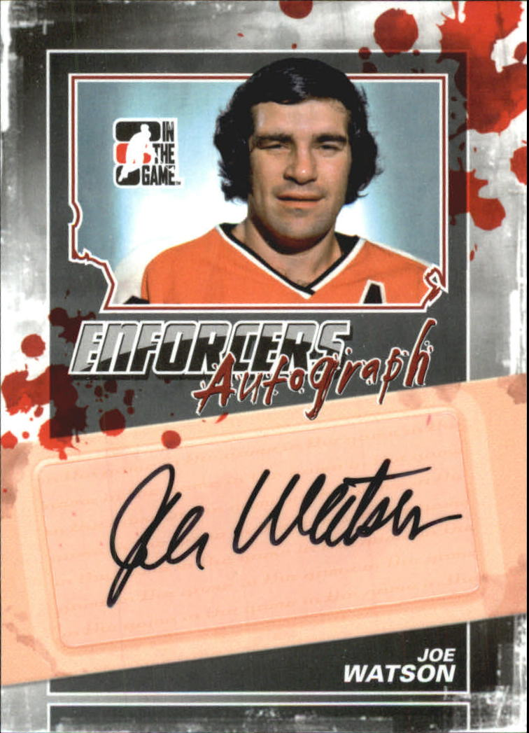 2011-12 ITG Enforcers Autographs #AJWA Joe Watson