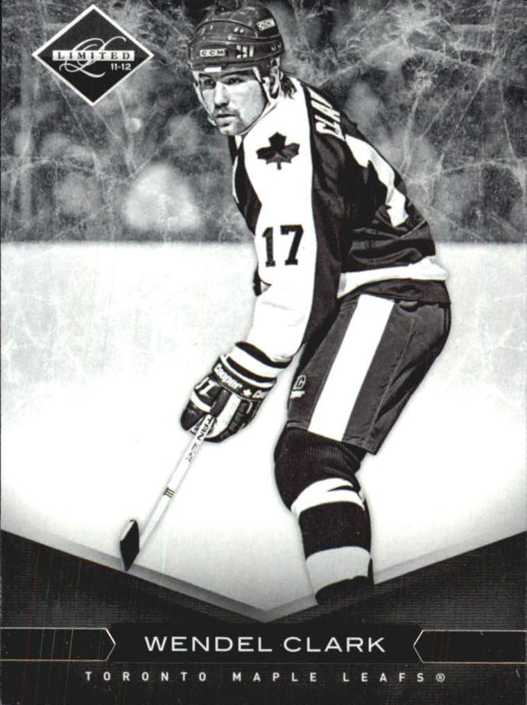 2011-12 Limited #6 Wendel Clark