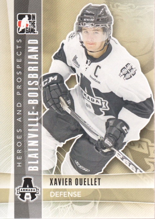 2011-12 ITG Heroes and Prospects #63 Xavier Ouellet CP