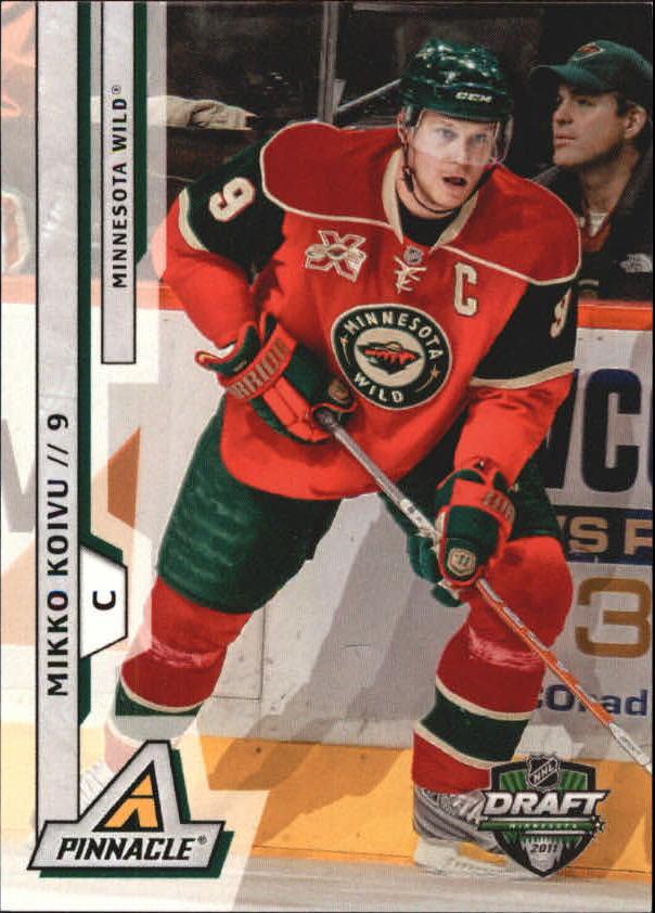 2011 Pinnacle NHL Draft Minnesota #2 Mikko Koivu