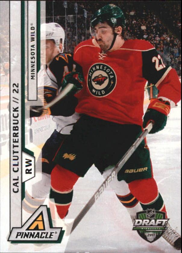 2011 Pinnacle NHL Draft Minnesota #4 Cal Clutterbuck