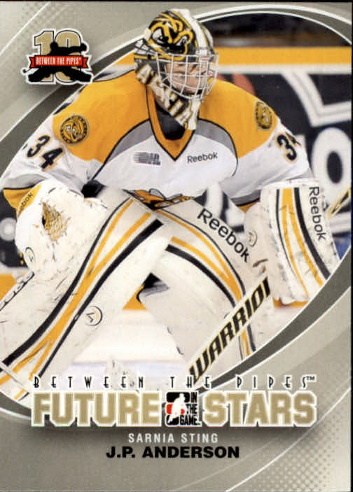 2011-12 Between The Pipes #2 J.P. Anderson