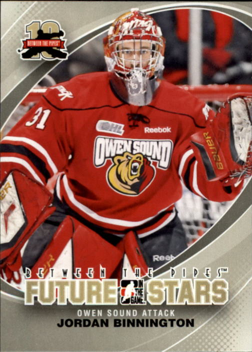 2011-12 Between The Pipes #3 Jordan Binnington