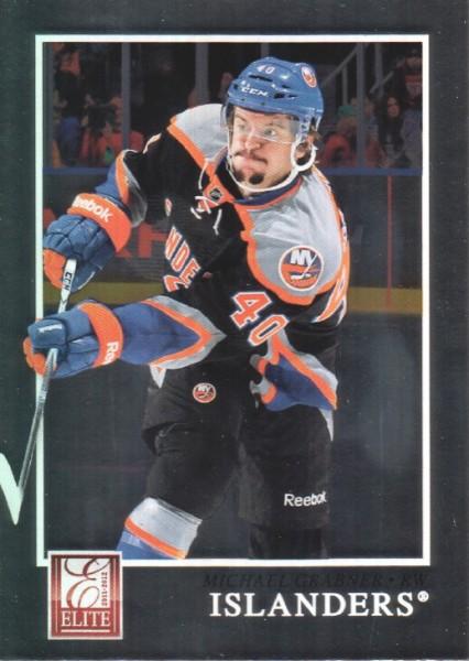 2011-12 Elite #6 Michael Grabner