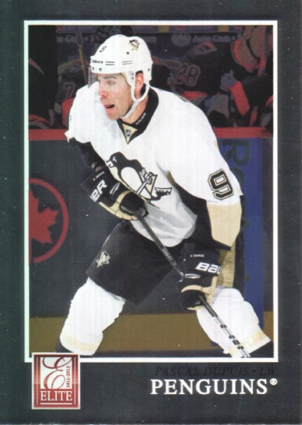 2011-12 Elite #7 Pascal Dupuis