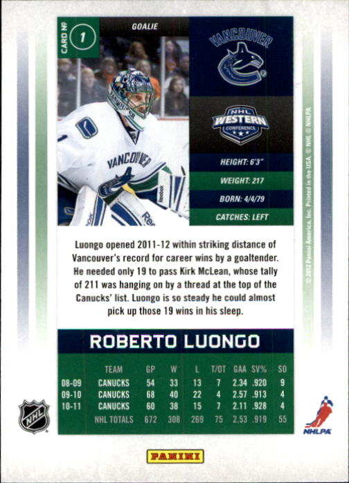2011-12-Panini-Contenders-Hockey-Cards-Pick-From-List thumbnail 3