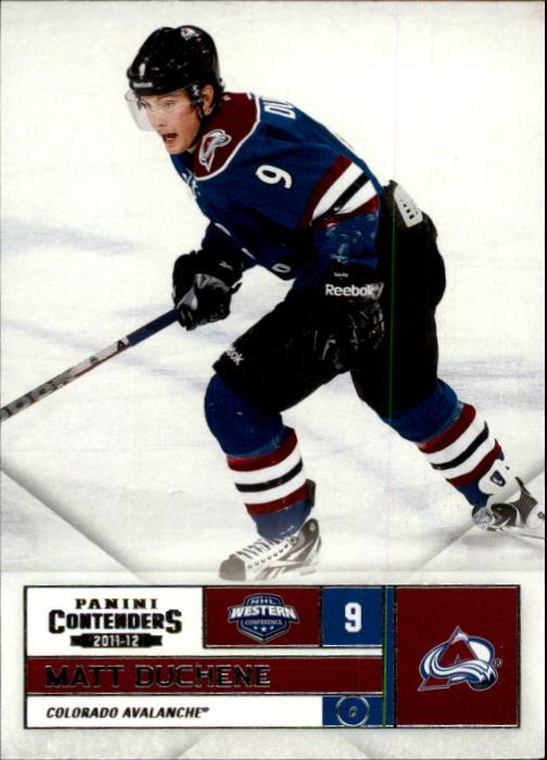 2011-12 Panini Contenders #9 Matt Duchene