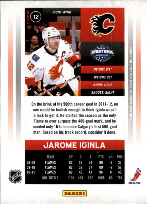 2011-12-Panini-Contenders-Hockey-Cards-Pick-From-List thumbnail 25