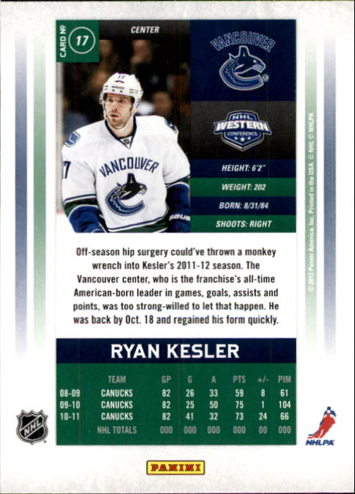 2011-12-Panini-Contenders-Hockey-Cards-Pick-From-List thumbnail 35