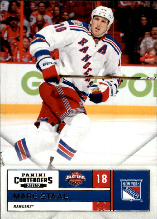 2011-12 Panini Contenders #18 Marc Staal