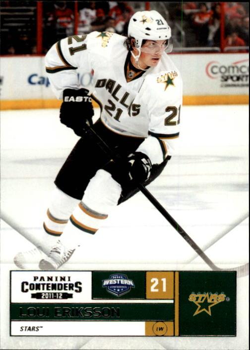2011-12 Panini Contenders #21 Loui Eriksson