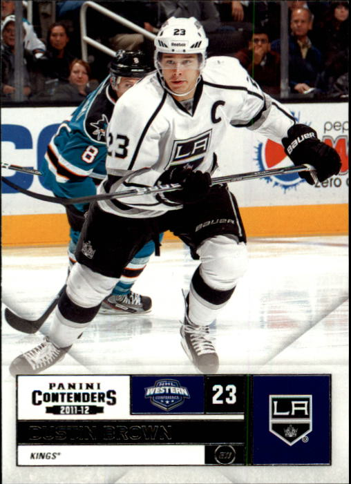 2011-12 Panini Contenders #23 Dustin Brown