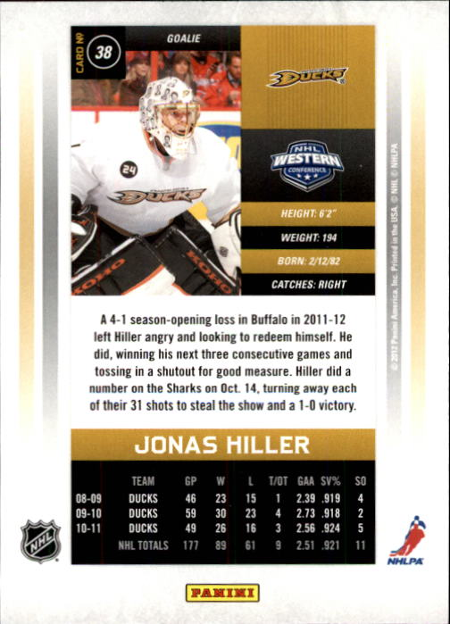 2011-12-Panini-Contenders-Hockey-Cards-Pick-From-List thumbnail 77