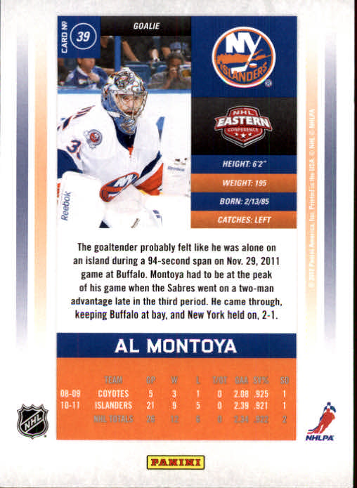 2011-12-Panini-Contenders-Hockey-Cards-Pick-From-List thumbnail 79
