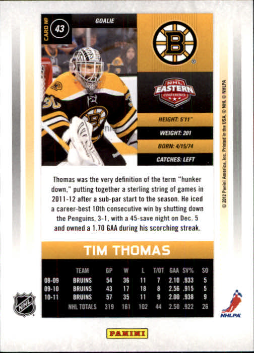 2011-12-Panini-Contenders-Hockey-Cards-Pick-From-List thumbnail 87
