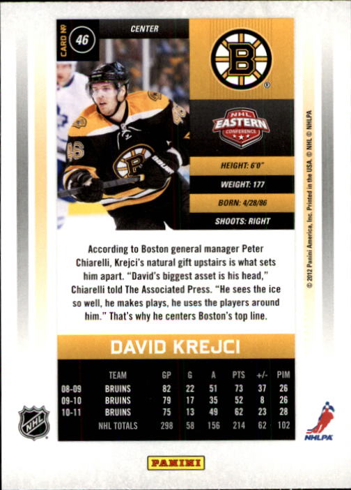 2011-12-Panini-Contenders-Hockey-Cards-Pick-From-List thumbnail 93