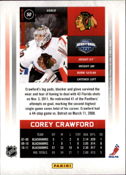 2011-12-Panini-Contenders-Hockey-Cards-Pick-From-List thumbnail 101