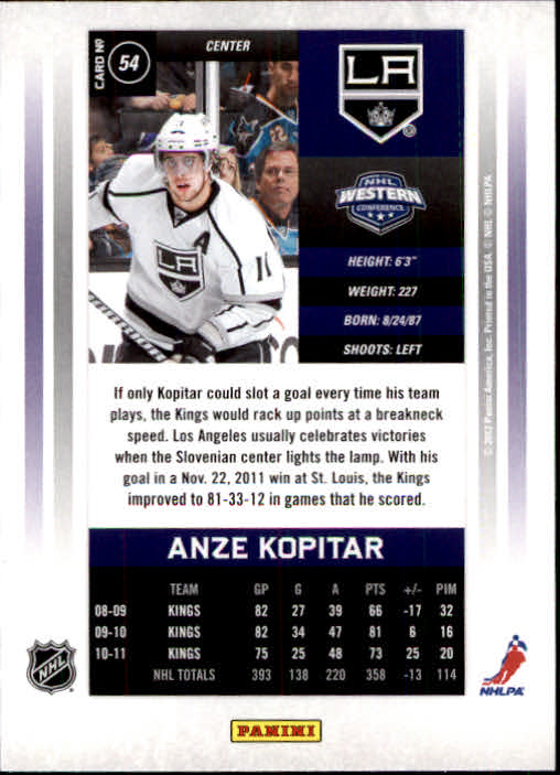 2011-12-Panini-Contenders-Hockey-Cards-Pick-From-List thumbnail 109