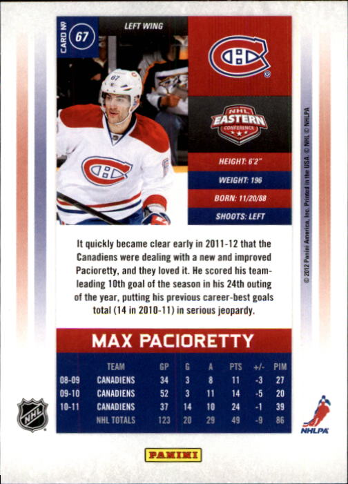 2011-12-Panini-Contenders-Hockey-Cards-Pick-From-List thumbnail 135