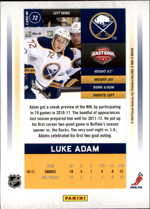 2011-12-Panini-Contenders-Hockey-Cards-Pick-From-List thumbnail 145