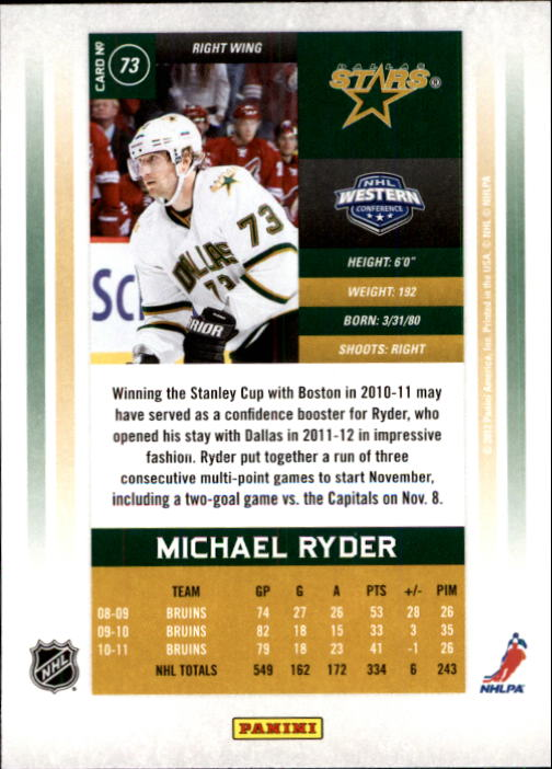 2011-12-Panini-Contenders-Hockey-Cards-Pick-From-List thumbnail 147