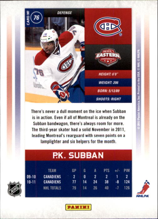 2011-12-Panini-Contenders-Hockey-Cards-Pick-From-List thumbnail 153