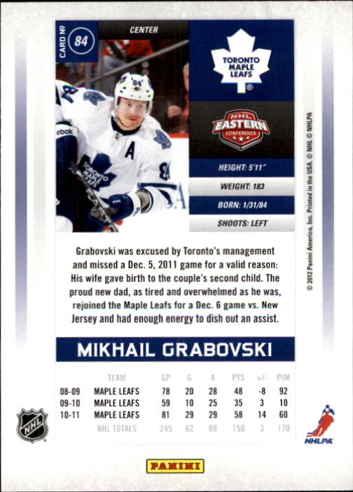 2011-12-Panini-Contenders-Hockey-Cards-Pick-From-List thumbnail 169