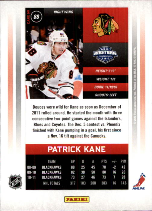 2011-12-Panini-Contenders-Hockey-Cards-Pick-From-List thumbnail 177