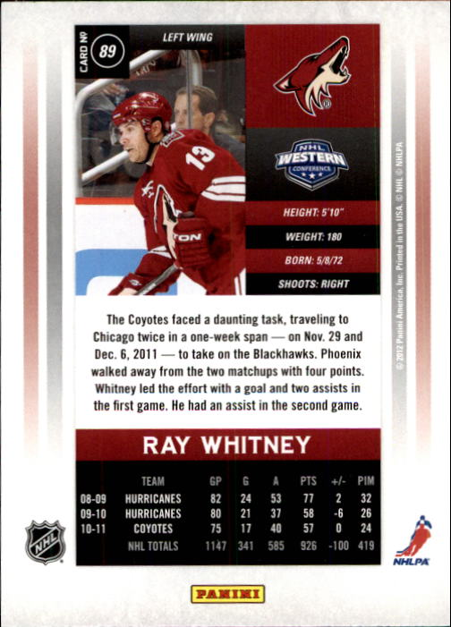 2011-12-Panini-Contenders-Hockey-Cards-Pick-From-List thumbnail 179