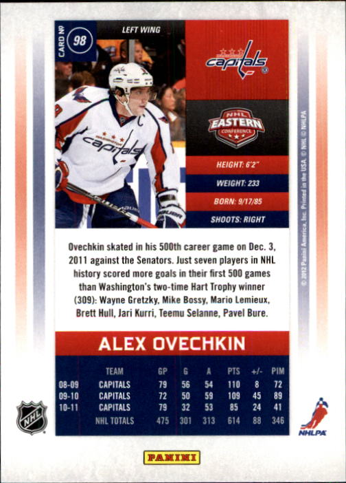 2011-12-Panini-Contenders-Hockey-Cards-Pick-From-List thumbnail 197