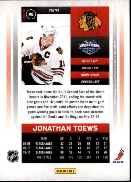 2011-12-Panini-Contenders-Hockey-Cards-Pick-From-List thumbnail 199