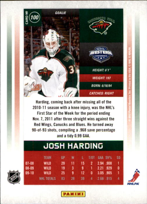 2011-12-Panini-Contenders-Hockey-Cards-Pick-From-List thumbnail 201