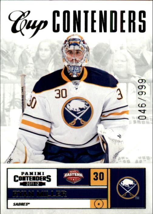 2011-12 Panini Contenders #106 Ryan Miller CC