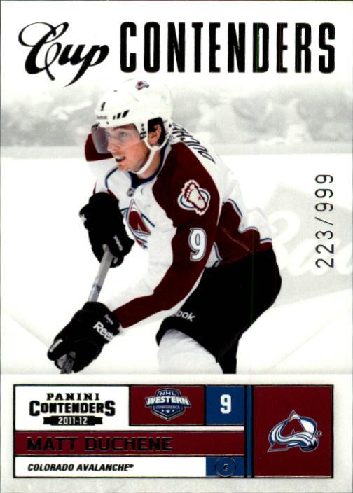 2011-12 Panini Contenders #109 Matt Duchene CC
