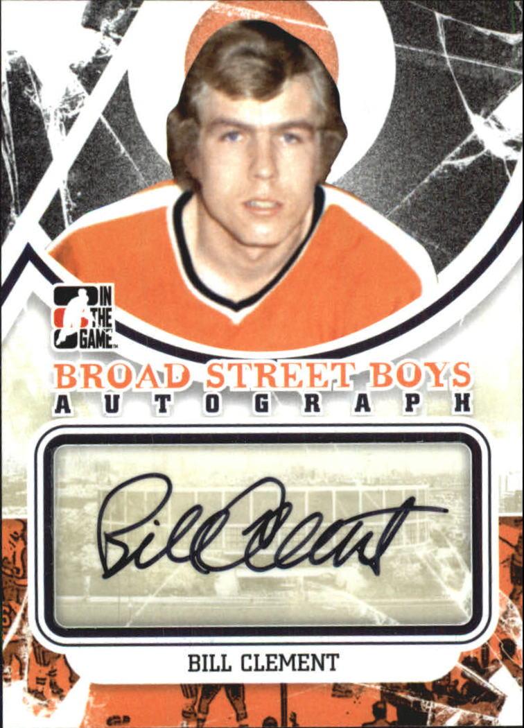 2011-12 ITG Broad Street Boys Autographs #ABC Bill Clement