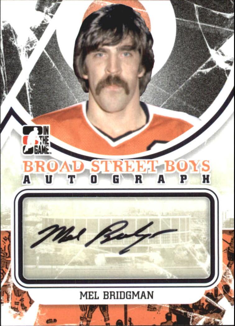2011-12 ITG Broad Street Boys Autographs #AMB Mel Bridgman