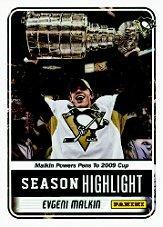 2012 Panini NHL Draft #SC2 Evgeni Malkin SP