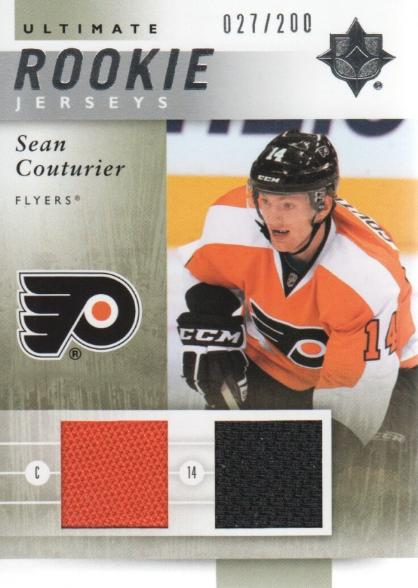 2011-12 Ultimate Collection Ultimate Rookie Jerseys #URJSC Sean Couturier