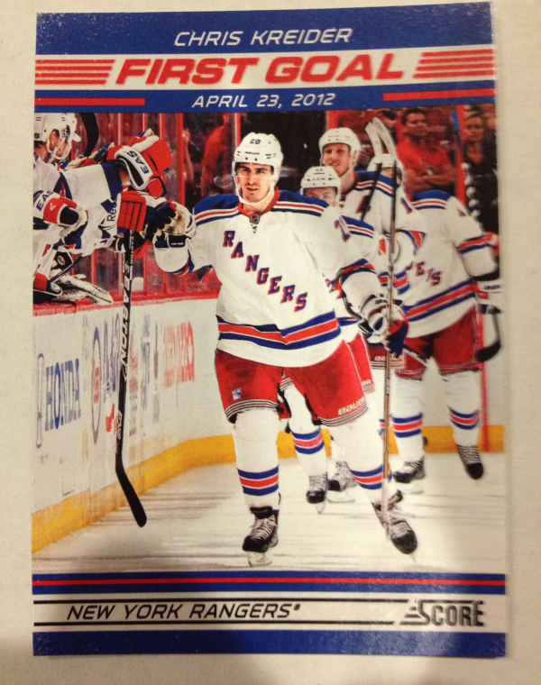 2012-13 Score First Goal #FG5 Chris Kreider