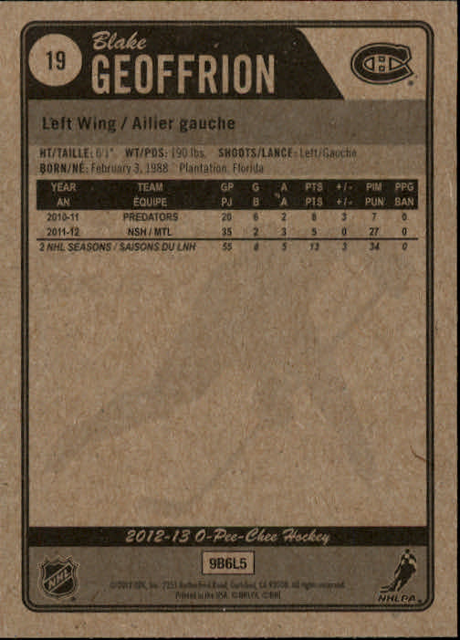 2012-13-O-Pee-Chee-Hockey-Cards-1-250-Pick-From-List thumbnail 37