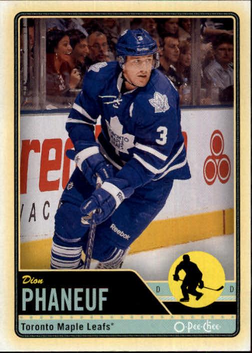 2012-13 O-Pee-Chee #78 Dion Phaneuf