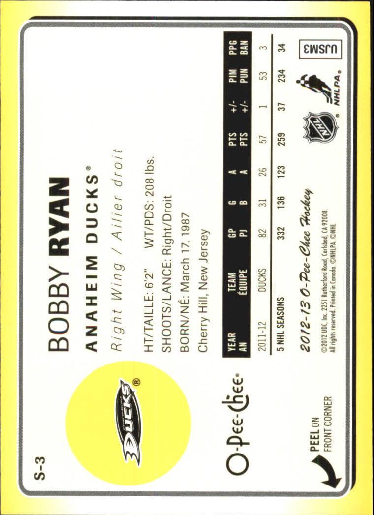2012-13-O-Pee-Chee-Stickers-Hockey-Card-Pick miniature 3