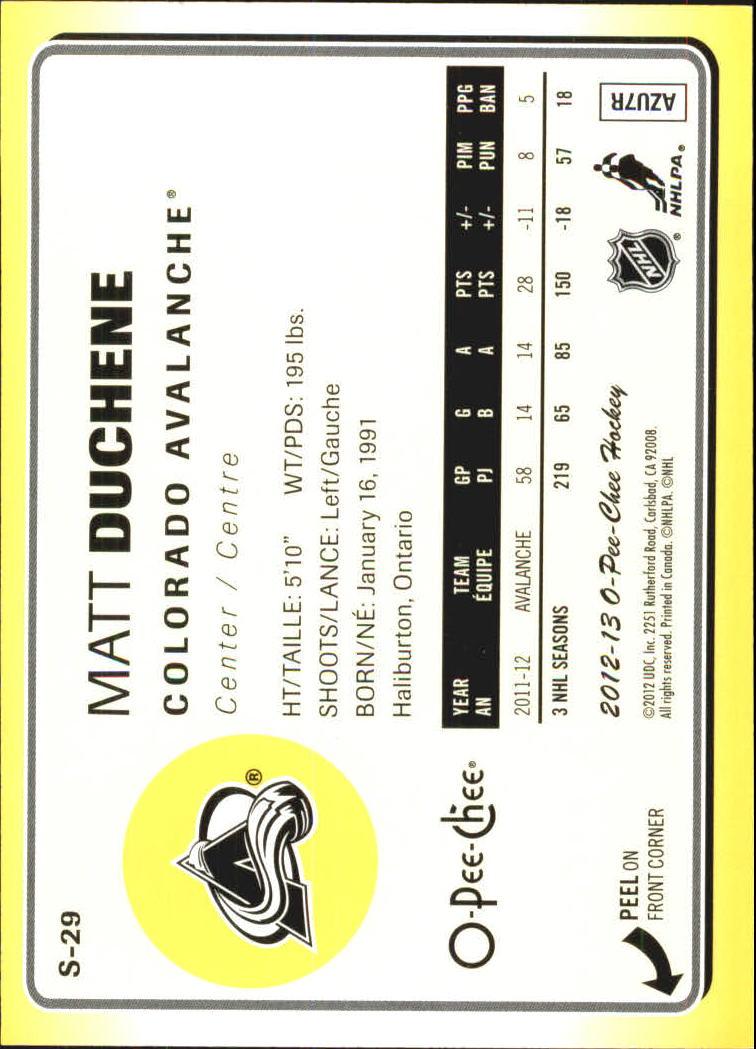 2012-13-O-Pee-Chee-Stickers-Hockey-Card-Pick miniature 11