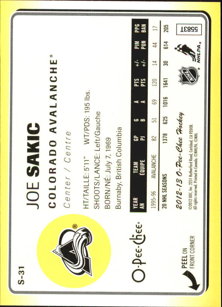 2012-13-O-Pee-Chee-Stickers-Hockey-Card-Pick miniature 13