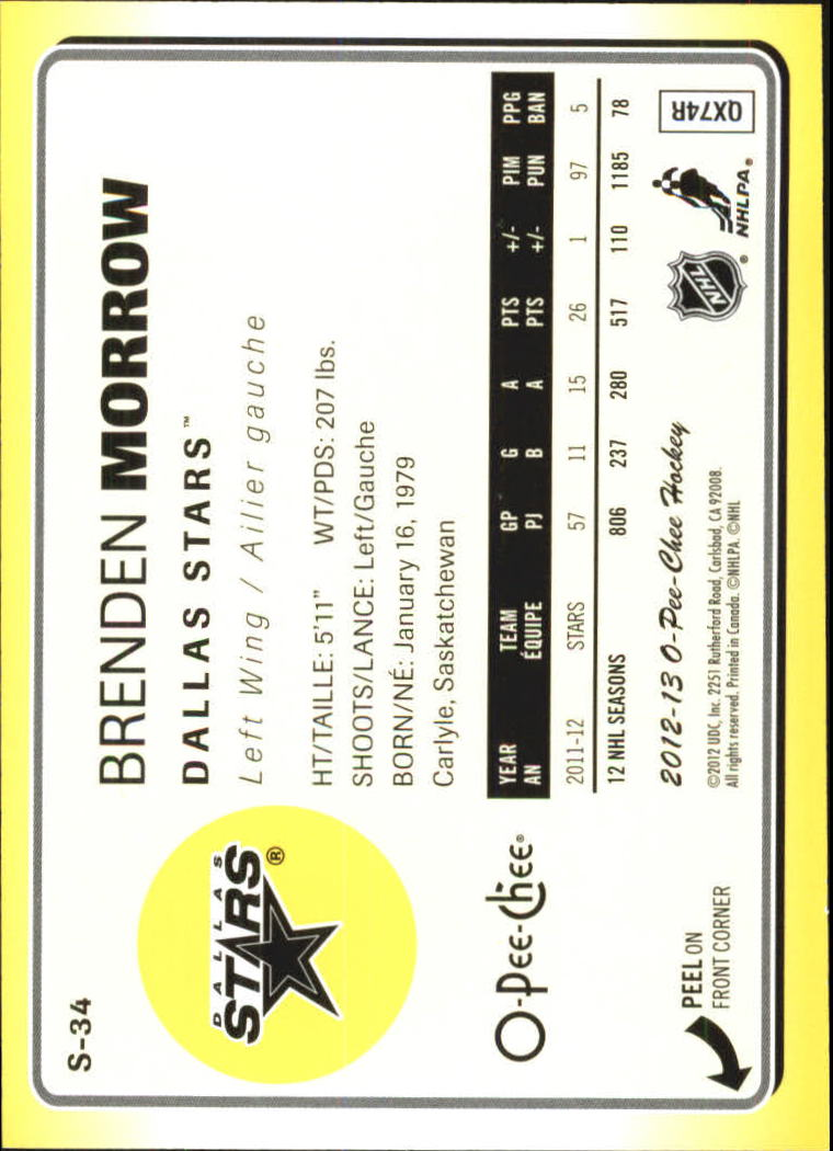 2012-13-O-Pee-Chee-Stickers-Hockey-Card-Pick miniature 17