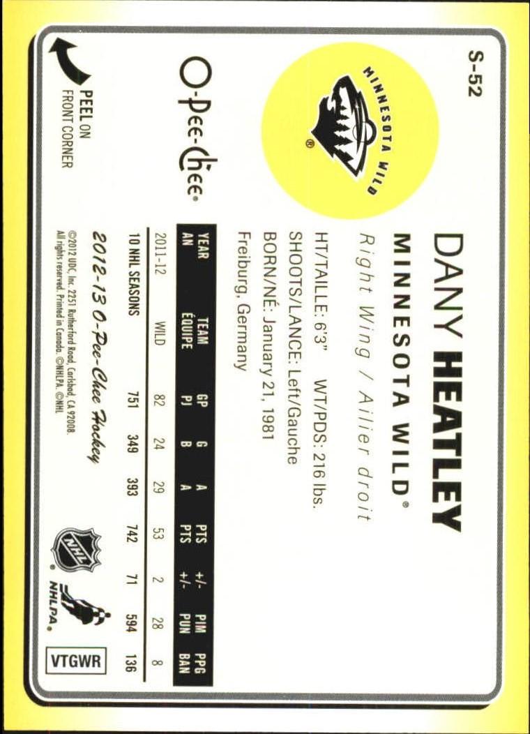 2012-13-O-Pee-Chee-Stickers-Hockey-Card-Pick miniature 23